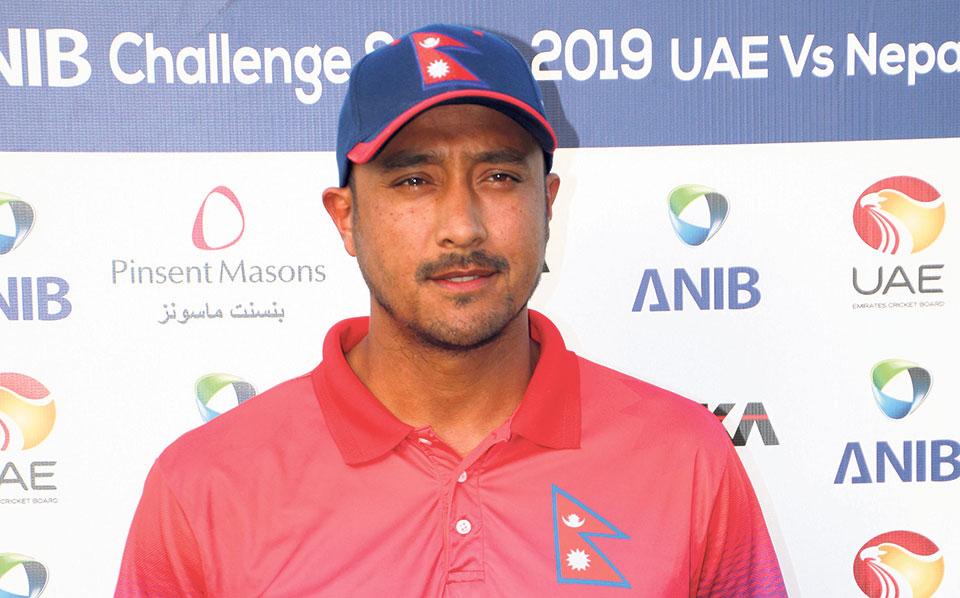 Nepali-captain-Paras-Khadka