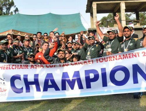 Wheelchair T20 Asia Cup winners Pakistan